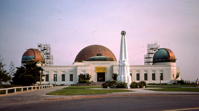 Griffith Observatory and Griffith Park