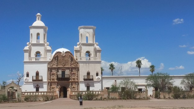 the San Xavier del Bac