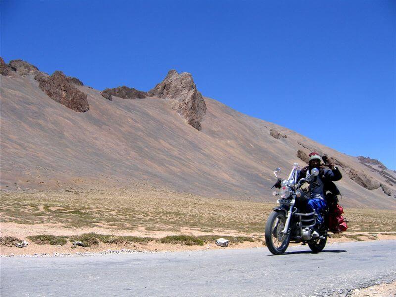 Ladakh bike riding
