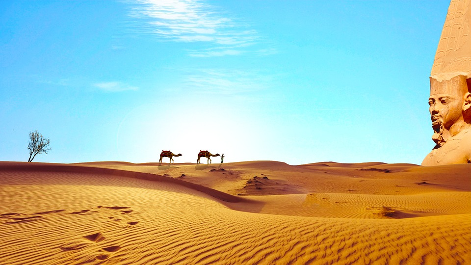 Sahara Desert in Egypt