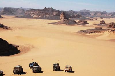 Sahara Desert in Libya
