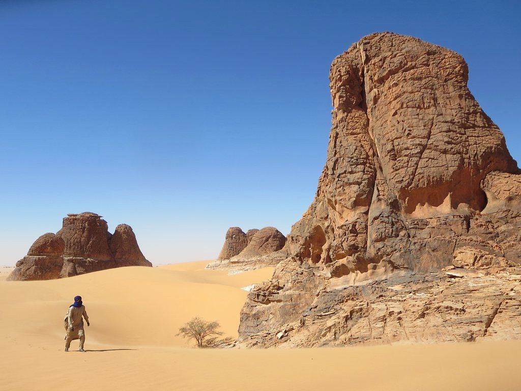 Chad Region of Sahara Desert