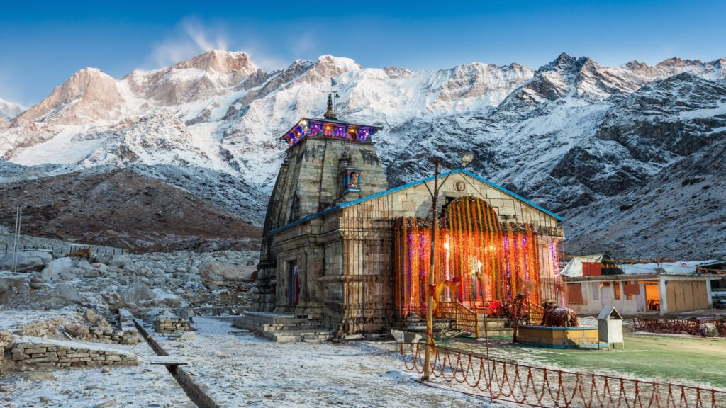 Famous temple in India- Kedarnath