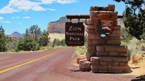 las Vegas to Zion National park