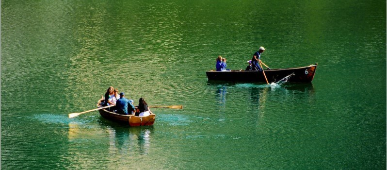 Pragser Wildsee boat