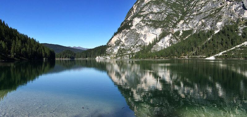 Pragser Wildsee swim