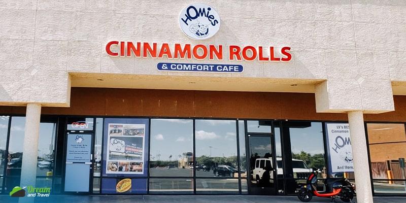 Homie's Cinnamon Rolls And Comfort Cafe