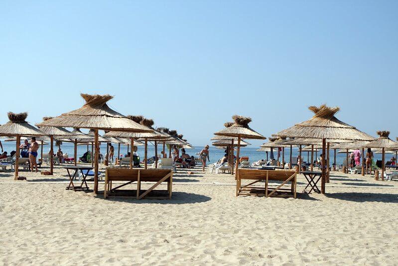 Sun Bath In The Beach bulgaria