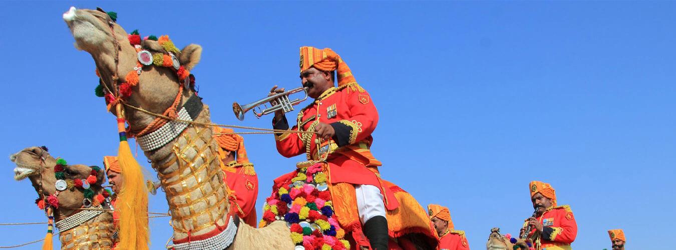 Popular Desert Festival In Jaisalmer Of Rajasthan